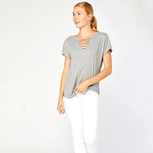 THREADS 4 THOUGHT Alice Organic Cotton V neck Top